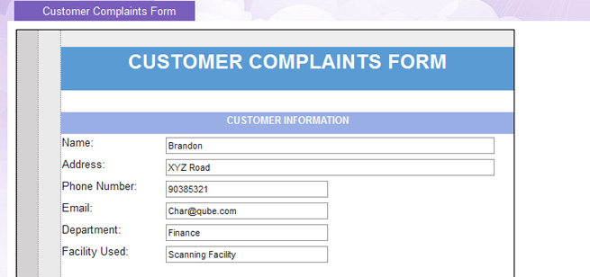 Once The Form Is Filled, Forward The Request To U0027CH Complaint Resolveru0027 By  Clicking The U0027Resolve Complaintu0027 Button.